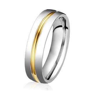 OPR0039 Dámský ocelový prsten, šíře 5 mm