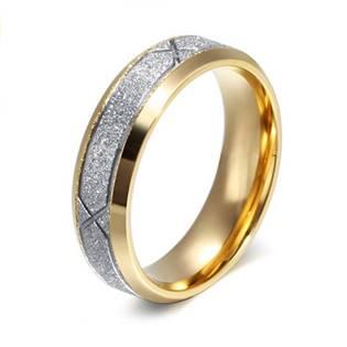 OPR0041 Pánský ocelový snubní prsten