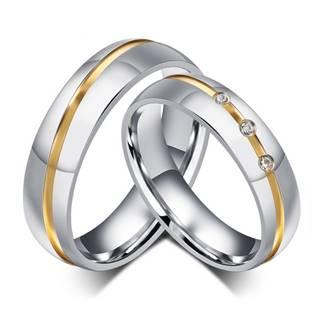 OPR0049 snubní prsteny - pár