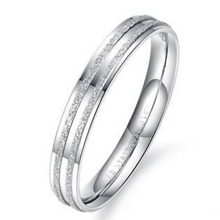 OPR0050 Dámský ocelový prsten, šíře 3 mm