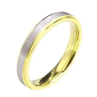 OPR0059 Pánský ocelový prsten, šíře 4 mm