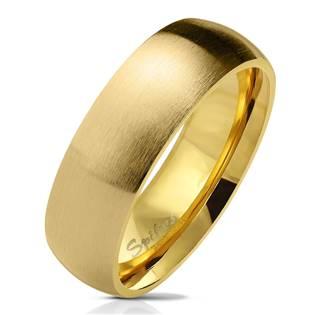 OPR0070 Dámský zlacený snubní prsten