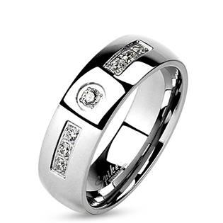 OPR0094 Dámský ocelový prsten