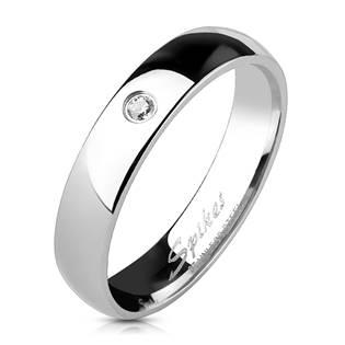 OPR1404 Dámský snubní prsten se zirkonem
