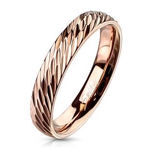 OPR1833 Dámský ocelový snubní prsten