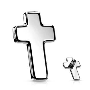 Ozdobný křížek k dermálu