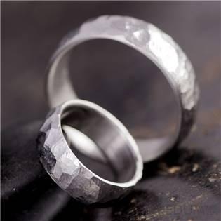 Pánský kovaný prsten Klasik BG