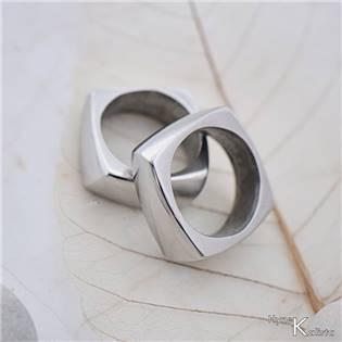 Pánský kovaný prsten Kumali nerez