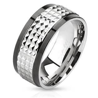 Pánský ocelový prsten rotační, vel. 65