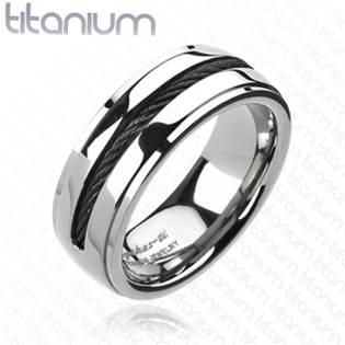 Pánský prsten z Titanu