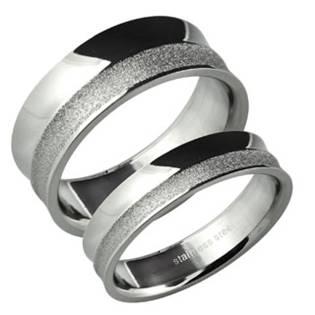 Pánský snubní prsten šíře 8 mm