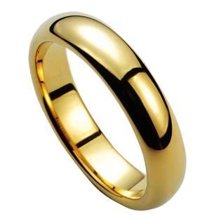 Pánský wolframový prsten, šíře 6 mm