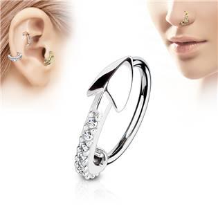 Piercing do nosu/ucha šipka