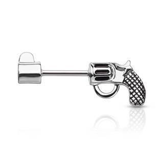 Piercing do ucha - náušnice revolver