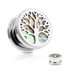 Plug do ucha s perletí - strom života