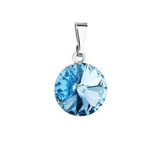 Přívěsek bižuterie se Swarovski krystaly, Aqua