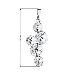 Přívěsek bižuterie se Swarovski krystaly, Crystal