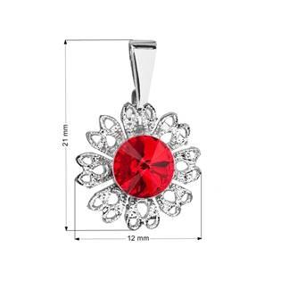 Přívěsek bižuterie se Swarovski krystaly, Light Siam