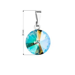 Přívěsek bižuterie se Swarovski krystaly, Paradise Shine