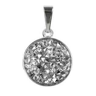 Přívěšek Crystals from Swarovski® 15mm, CRYSTAL CAL