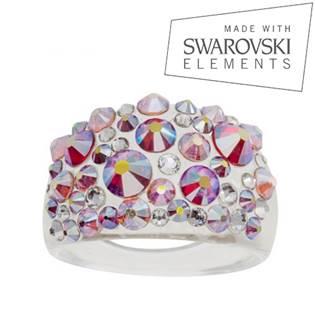 Prsten s krystaly Crystals from Swarovski®, Glacier
