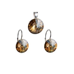Sada šperků s kameny Crystals from Swarovski® Gold