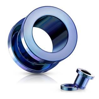Šroubovací tunel do ucha modrý