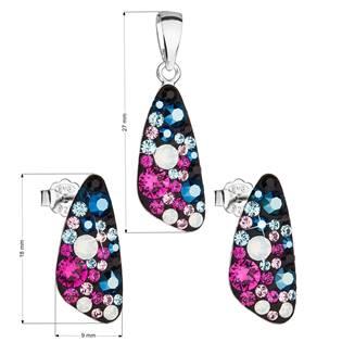 Stříbrná souprava šperků Crystals from Swarovski® Galaxy
