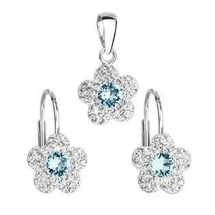 Stříbrná souprava šperků katičky Crystals from Swarovski®