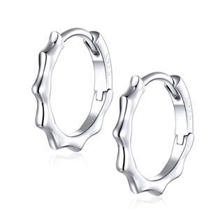 Stříbrné náušnice kroužky