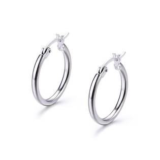 Stříbrné náušnice kroužky 13 mm