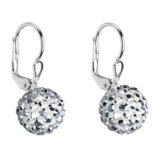 Stříbrné náušnice s krystaly Crystals from Swarovski® Silver