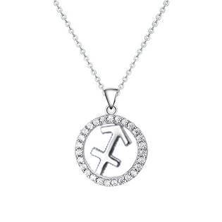 Stříbrný náhrdelník - znamení střelec