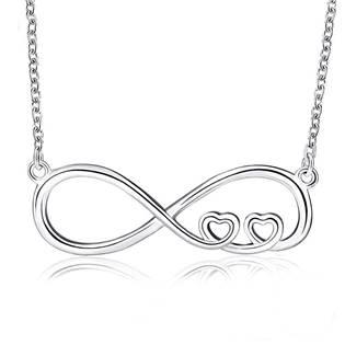 Stříbrný náhrdelník kenonečno