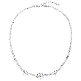 Stříbrný náhrdelník s Crystals from Swarovski® AB