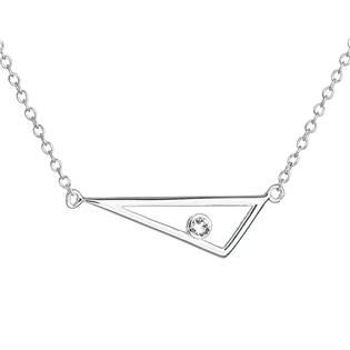 Stříbrný náhrdelník tojúhelník s Crystals from Swarovski®