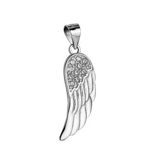 Stříbrný přívěšek - andělské křídlo