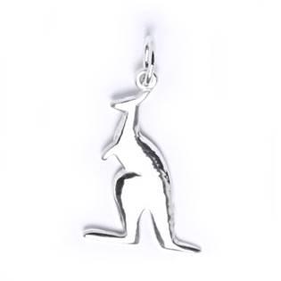 Stříbrný přívěšek - klokan