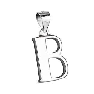 """Stříbrný přívěšek - písmeno """"B"""""""