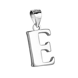 """Stříbrný přívěšek - písmeno """"E"""""""