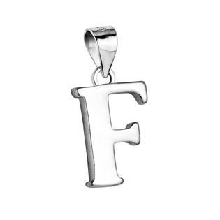 """Stříbrný přívěšek - písmeno """"F"""""""