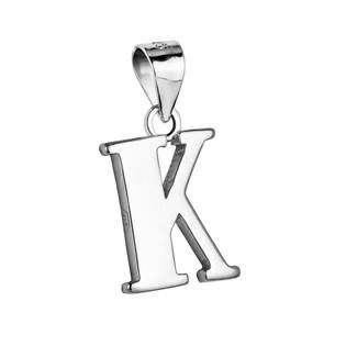 """Stříbrný přívěšek - písmeno """"K"""""""