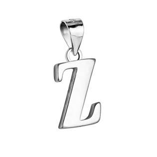 """Stříbrný přívěšek - písmeno """"Z"""""""