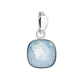 Stříbrný přívěšek Crystals from Swarovski® Blue Opal