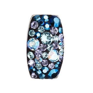Stříbrný přívěšek Crystals from Swarovski®, Blue Style