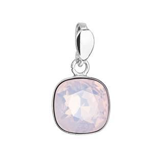 Stříbrný přívěšek Crystals from Swarovski® Rose Water Opal