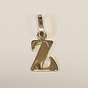 Stříbrný přívěšek písmeno - iniciála Z