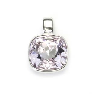 Stříbrný přívěšek s kamenem Crystals from SWAROVSKI®, barva: Violet