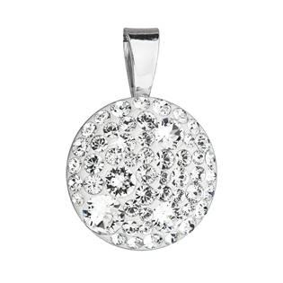 Stříbrný přívěšek s kameny Crystals from Swarovski® Crystal