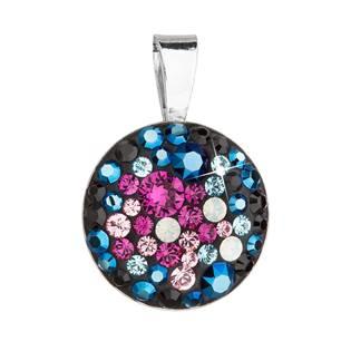 Stříbrný přívěšek s kameny Crystals from Swarovski® Galaxy